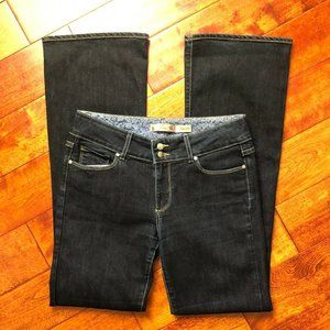 Paige Hidden Hills Jeans Size 30 Long Dark Wash